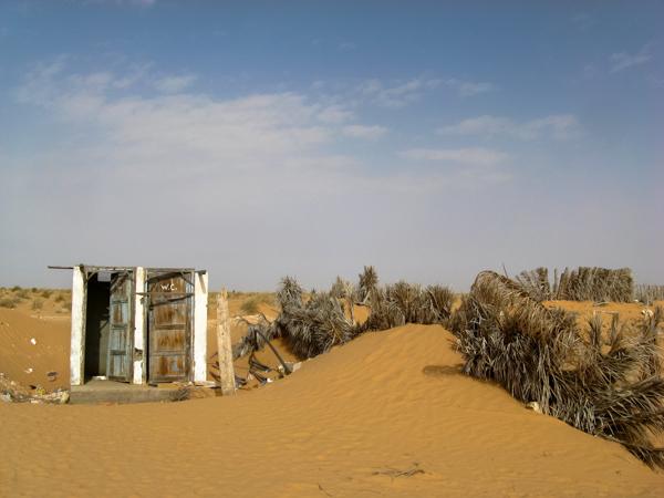 bagni pubblici - Festival del Sahara di Douz