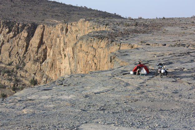 Jebel Shams - Oman in moto