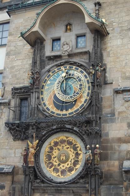 Praga-Municipio orologio astronomico