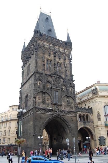 Praga-Torre delle polveri