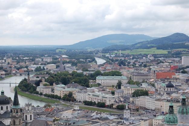 Salisburgo-panorama