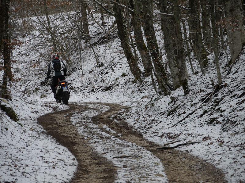 Roberto peggio sulla neve