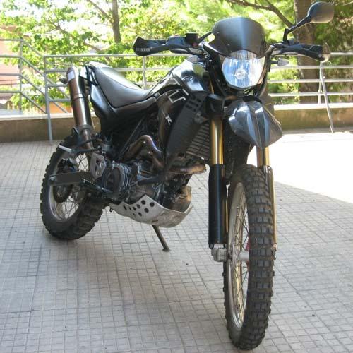 La XT660R di 3g