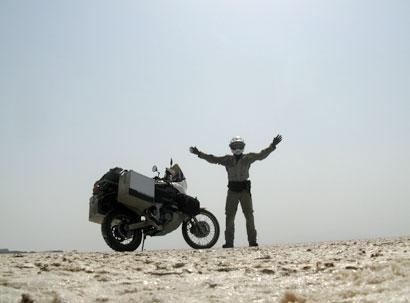 Il Lago salato di Urmia Iran Africa Twin