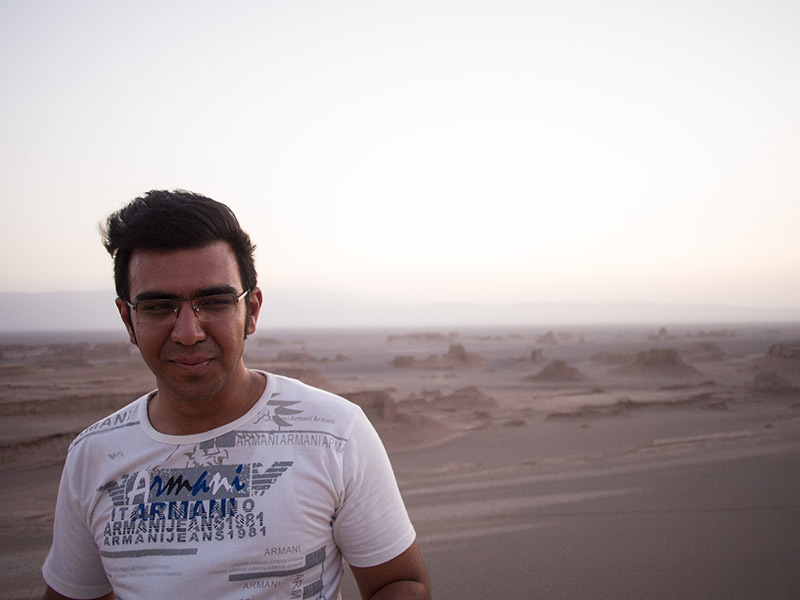 Ahmed Desert Guide Iran