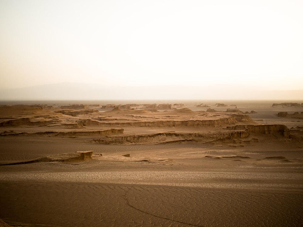 Kalut journey desert Iran