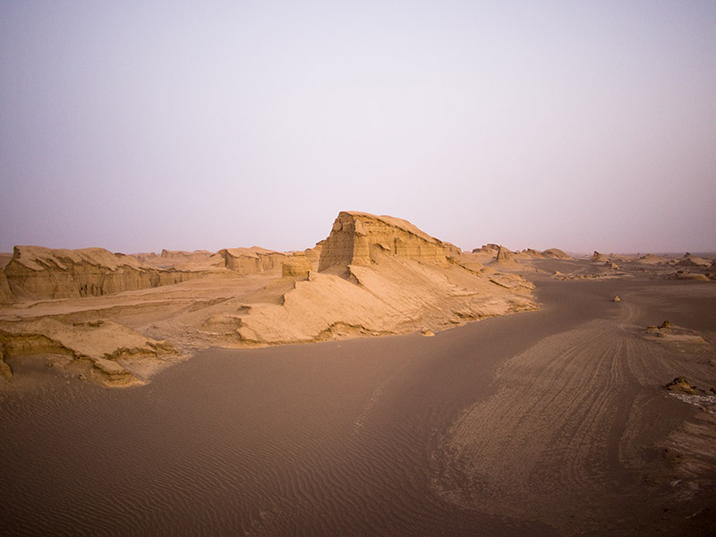 journey desert Iran