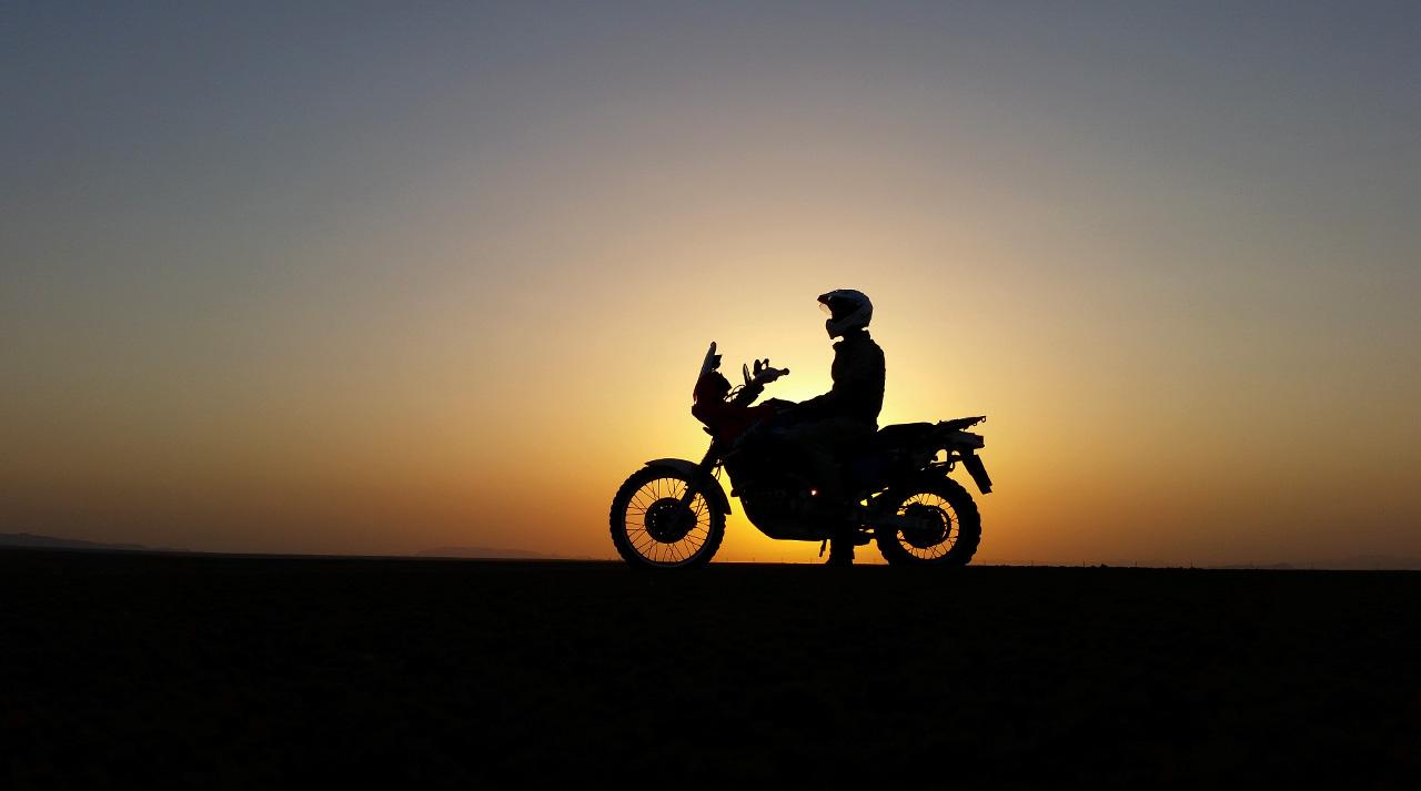 Luigi De Santis viaggio in moto in Iran 2014