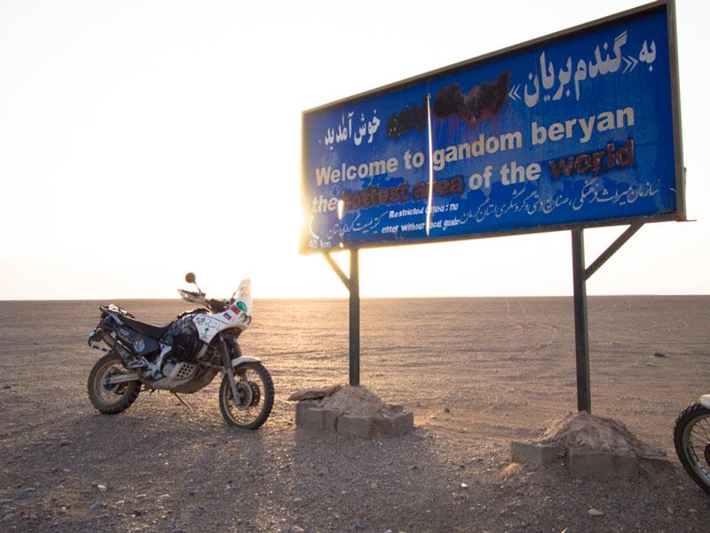 Kerman Iran Deserto
