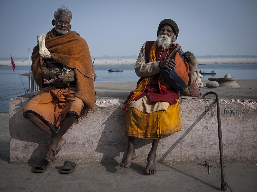 Morire a Varanasi, fotografia di Luigi De Santis