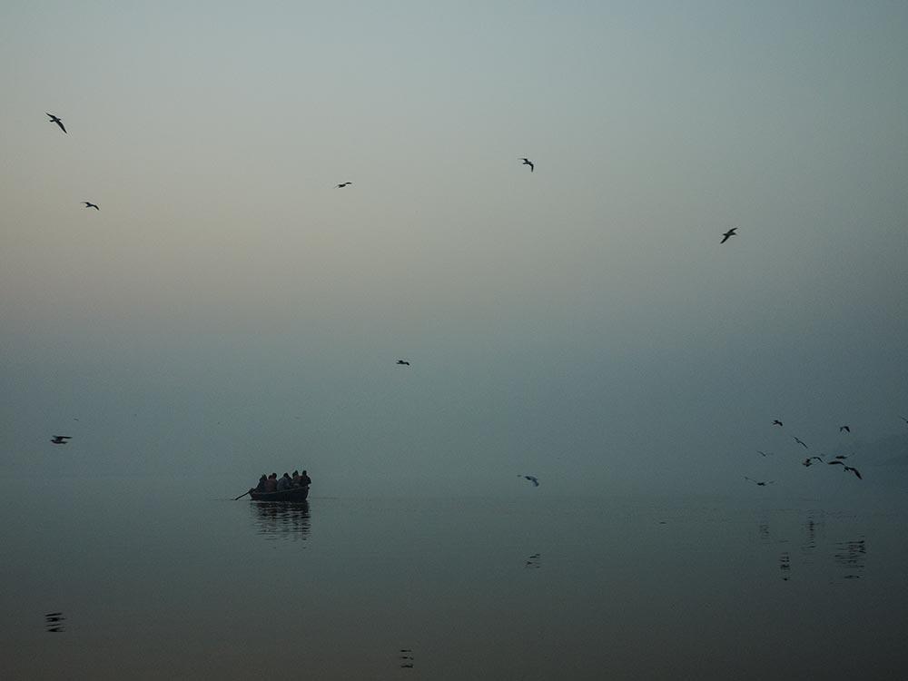 il fiume Gange, fotografia di Luigi De Santis
