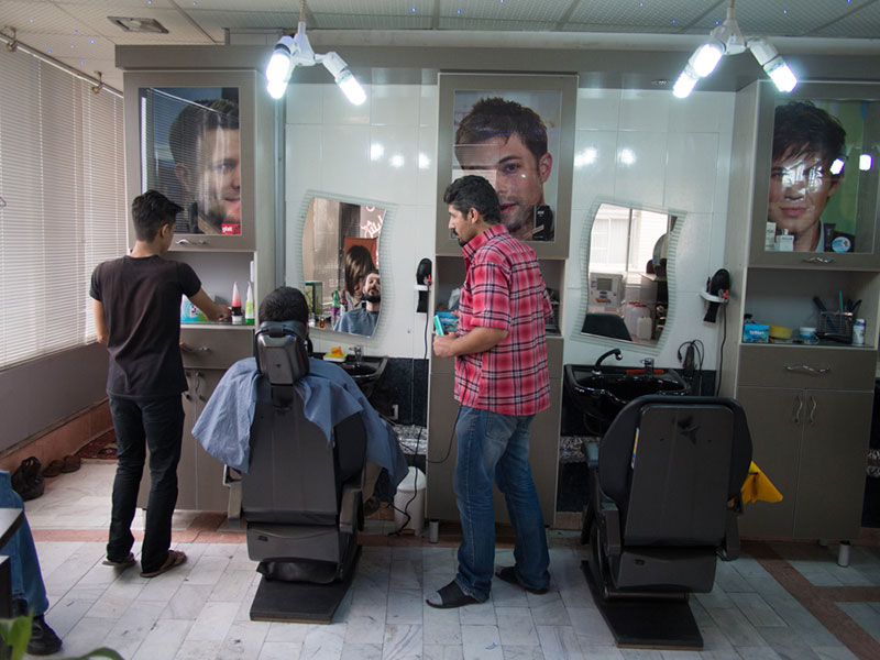 barbiere a Tabriz