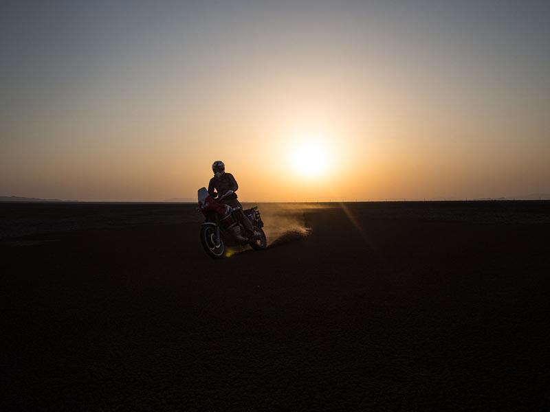 la moto dell Afgano
