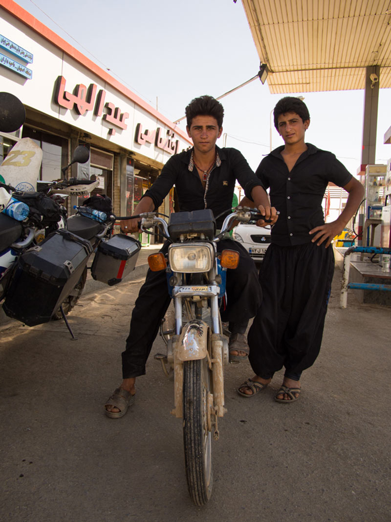 motociclisti iraniani
