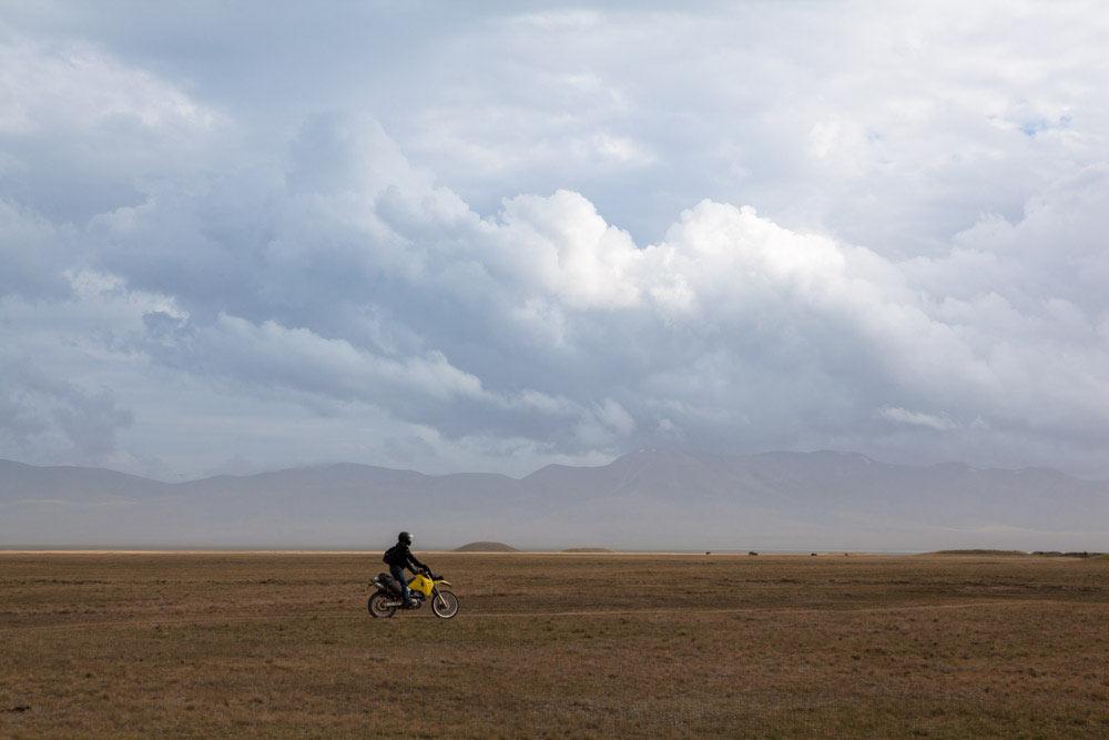 Lago Son Kul Kirghizistan