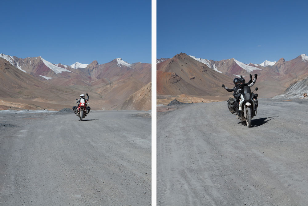 Ak Baital Pass a 4655 metri di altezza