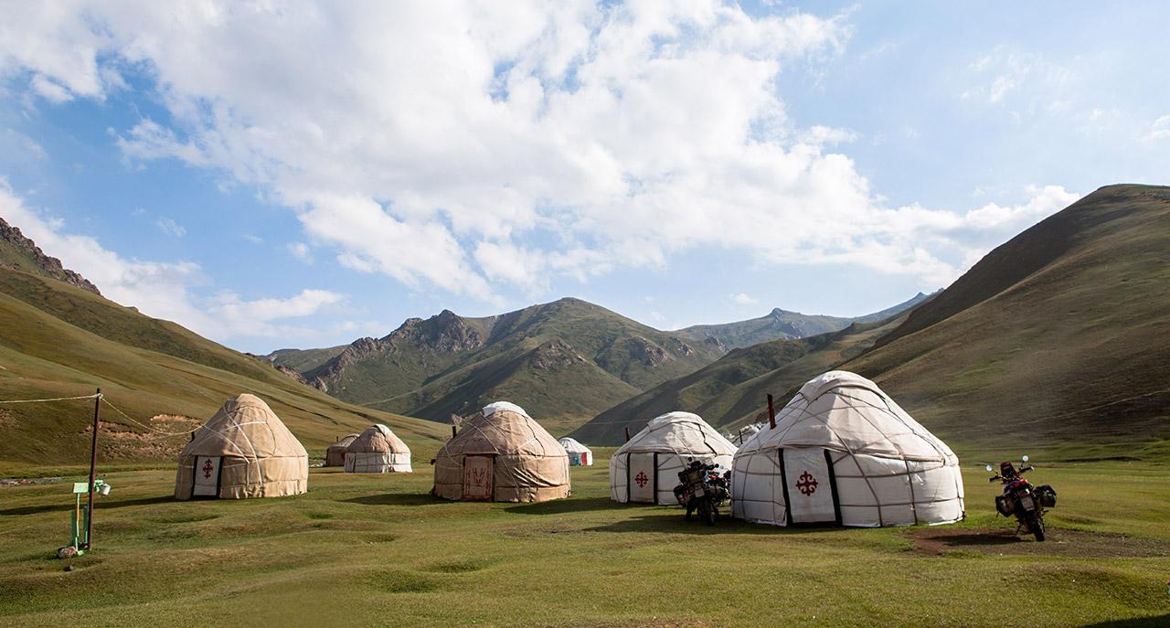 Yurte Asia Centrale
