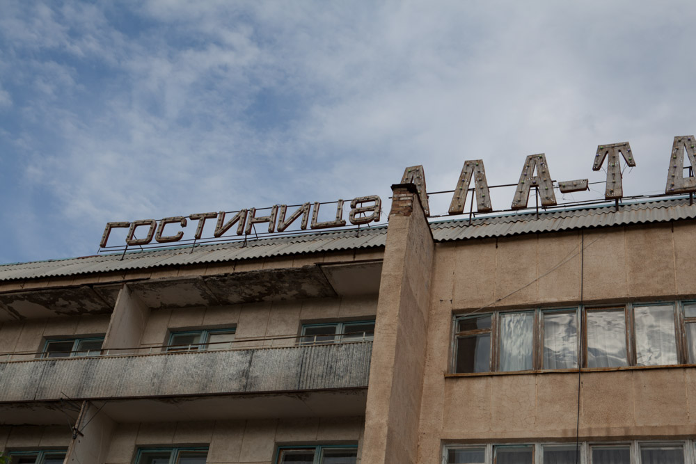 Naryn albergo russo