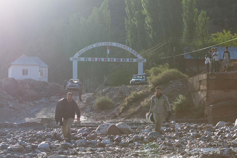 Pamir check-point militare