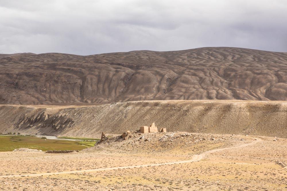 Castello e terme di Derviji Tajikistan