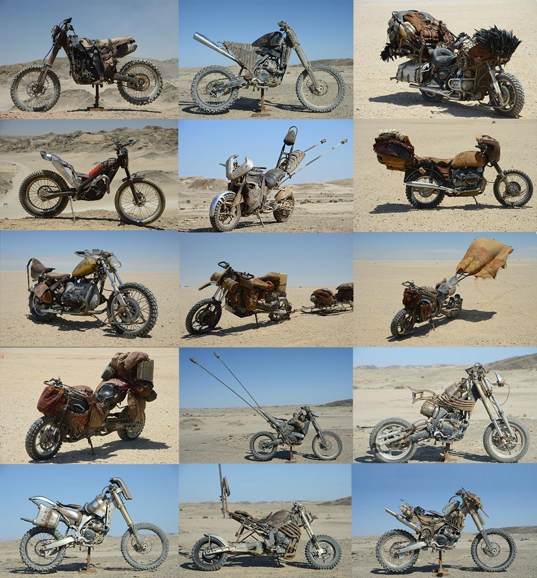 Sporcoendurista Tutte le moto del film Mad Max Fury Road