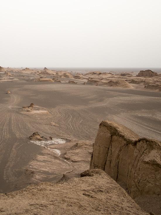 Gandom Beryan e il deserto dei Kalut in Iran