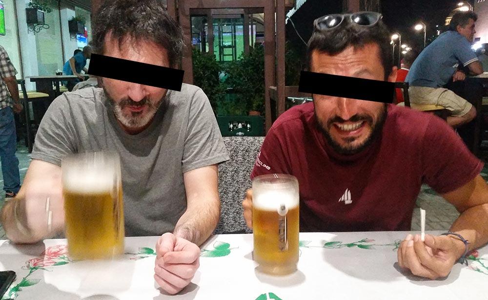 Fabio il Saraceno e Andrea l'Afgano