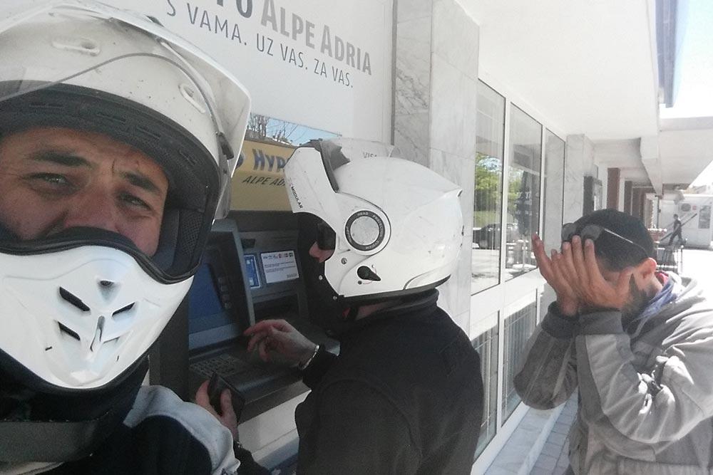 sportello bancomat bosniaco