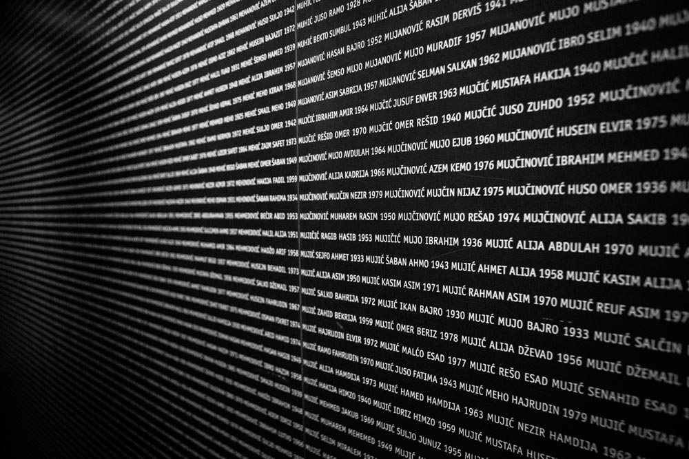 Galleria memoriale 11-07-95