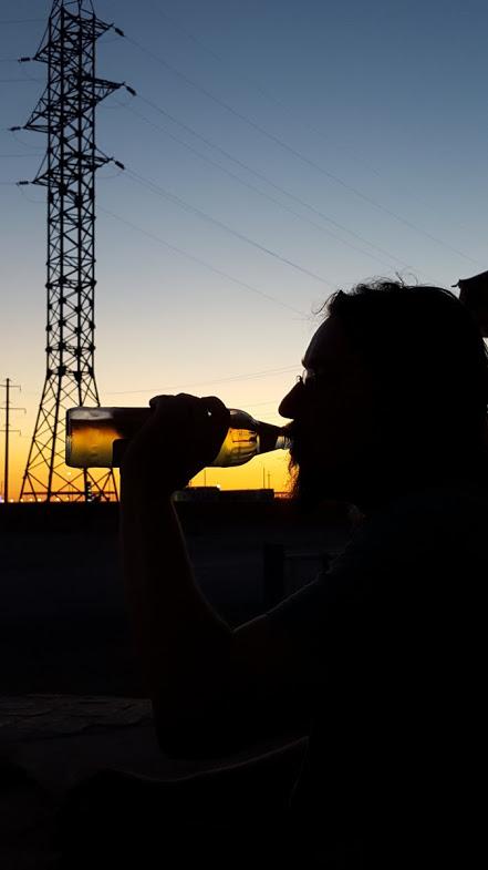 cristiano beve birra in turkistan