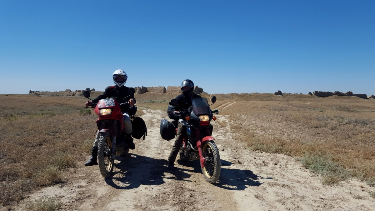 turkistan in moto
