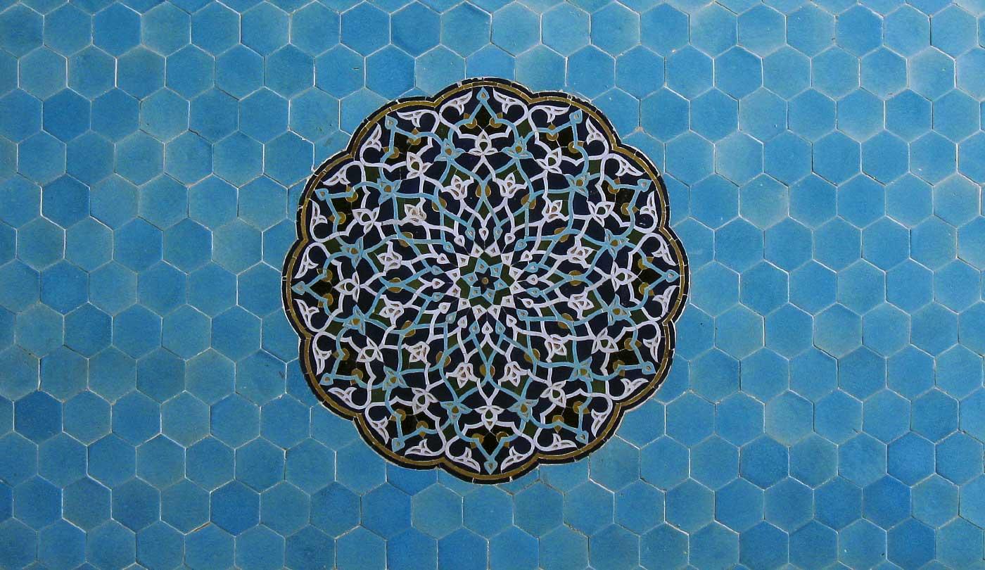 Masjid-e-Jāmeh di Yazd Moschea del venerdì è uno dei più importanti edifici dell'Iran. foto Luigi De Santis in Iran