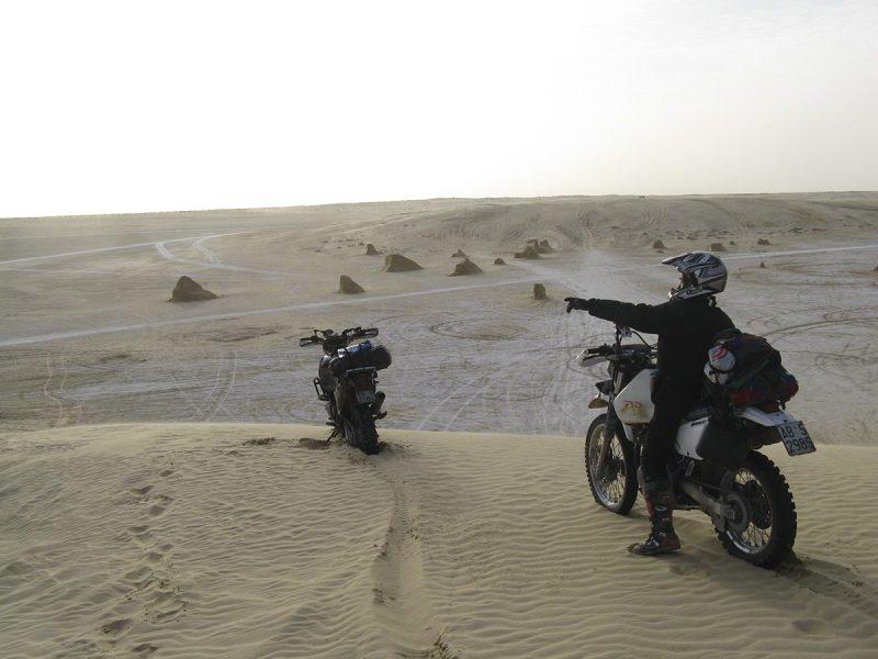 Tunisia Sporcoendurista viaggio nel Deserto