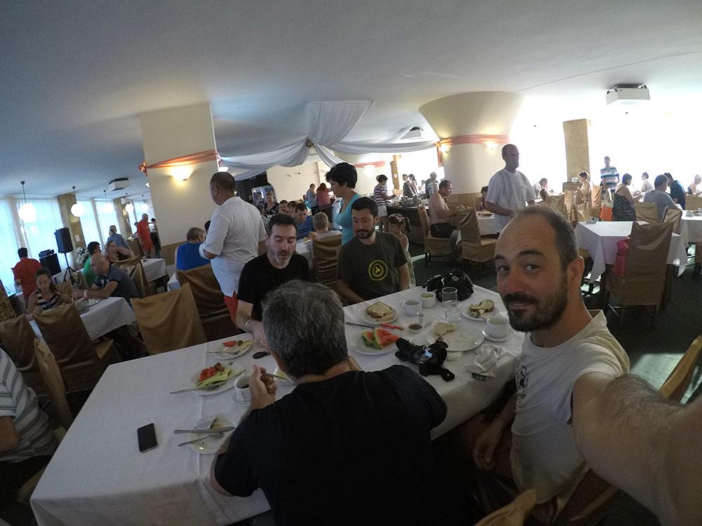 colazione a Baile Felix Oradea