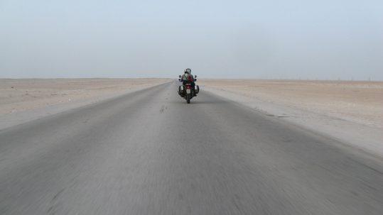 prima puntata del viaggio in moto in Oman 2009
