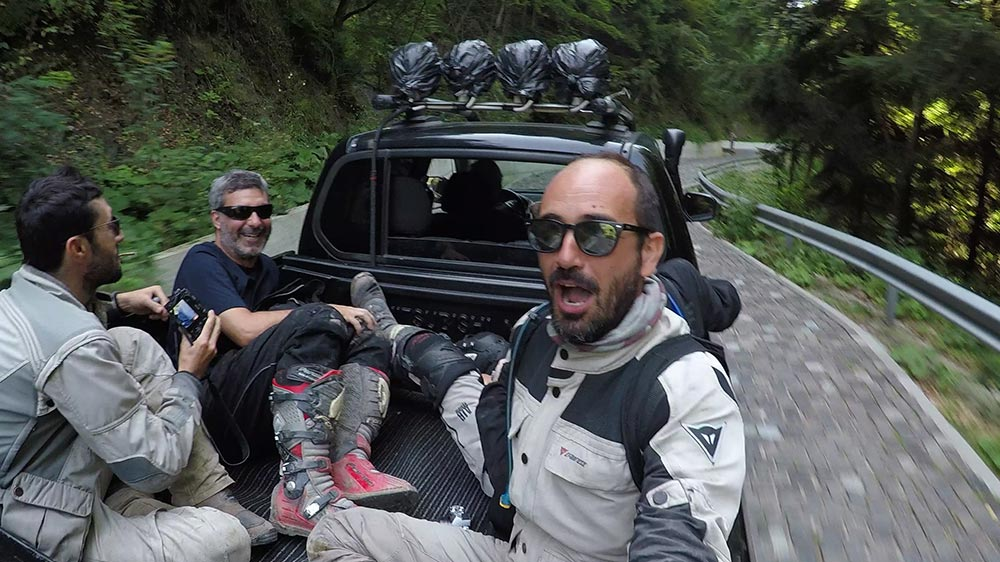 gopro giro sul pick-up
