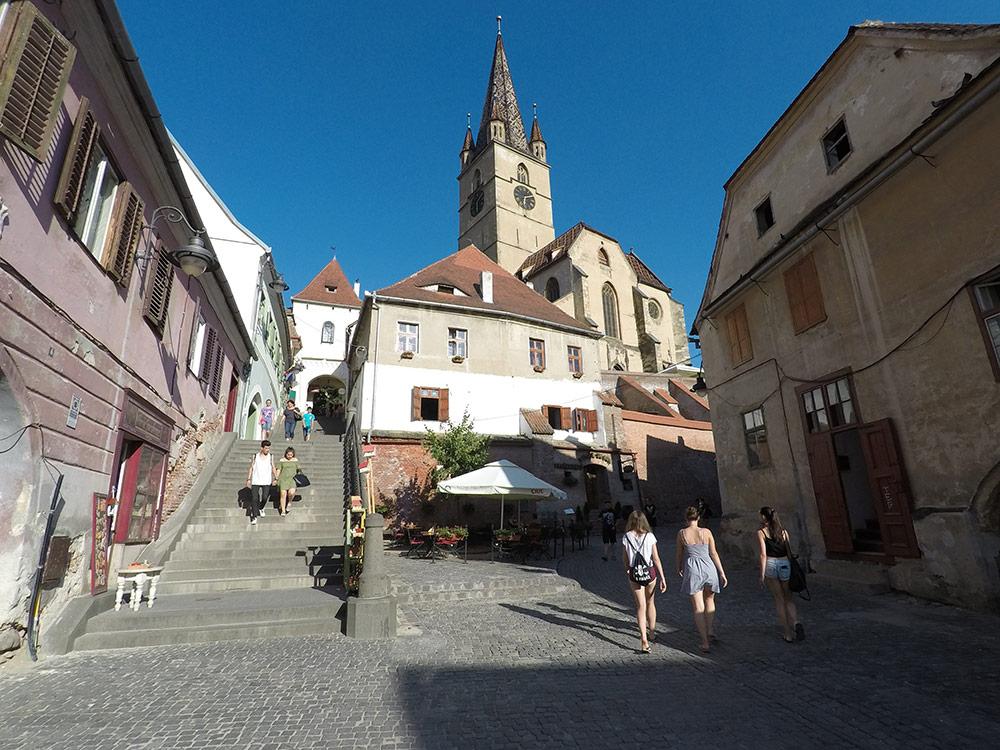 city center Sibiu Romania