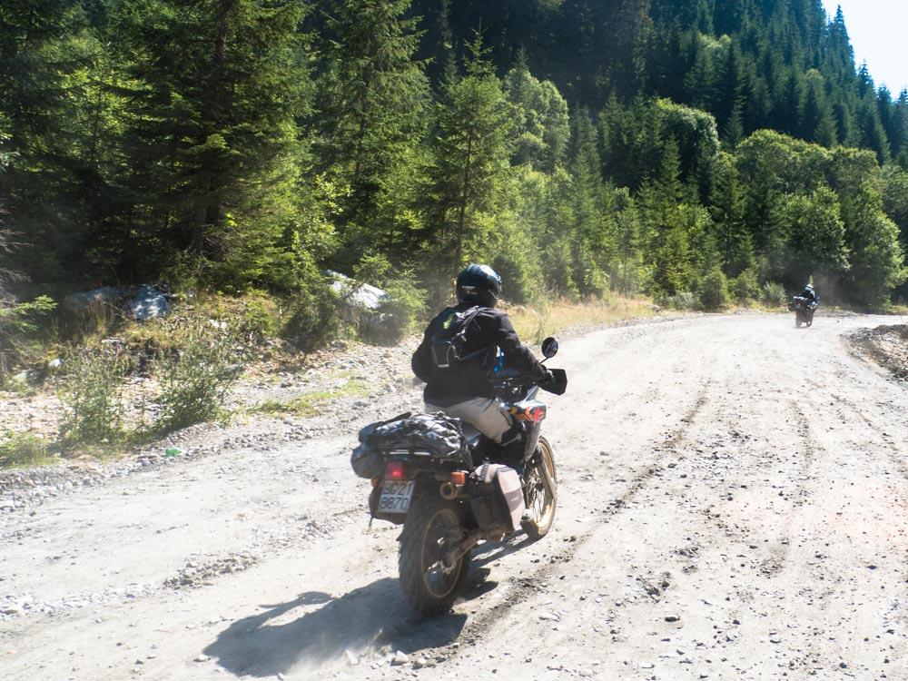 strada Transalpina Romania in moto