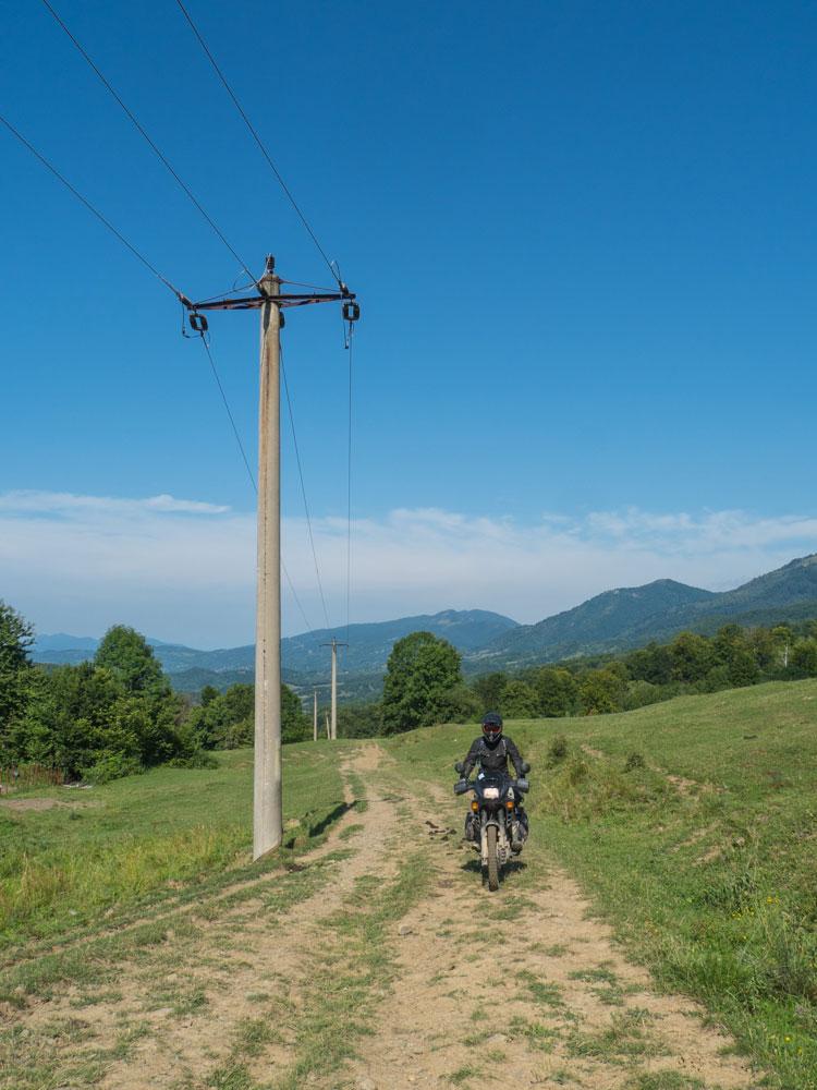 viaggio in moto in Romania 2017