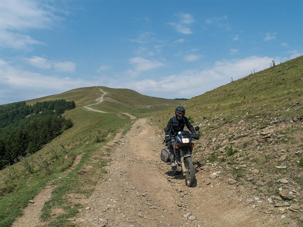 Fabio il Saraceno in viaggio in Romania