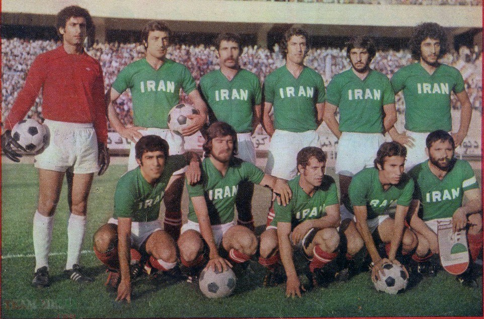 1976 Team Melli - Iran