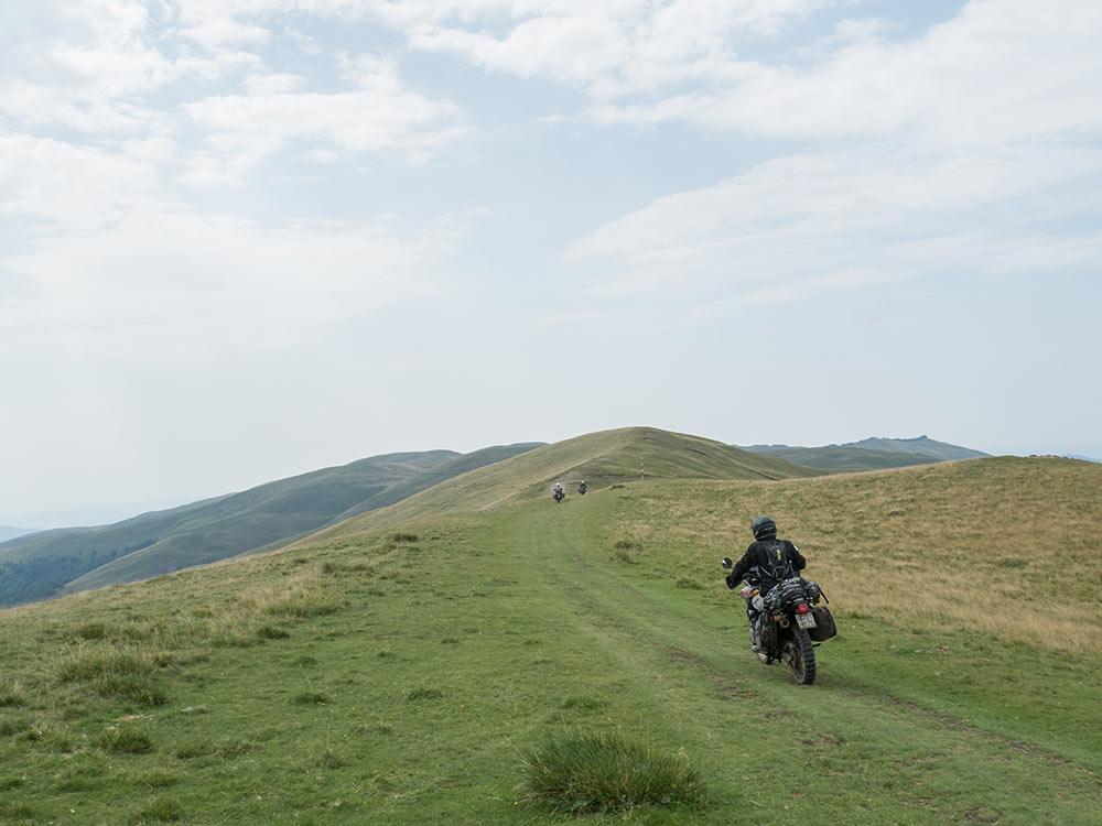 africa twin dominator tenere - viaggio in moto in Romania