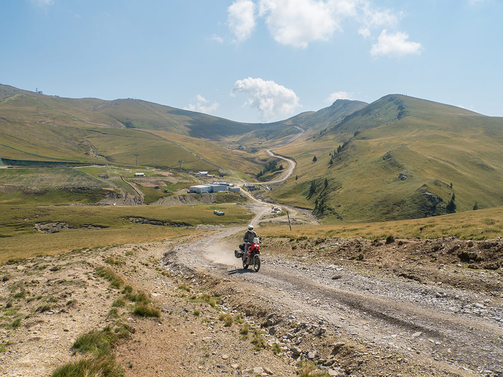 Africa Twin enduro