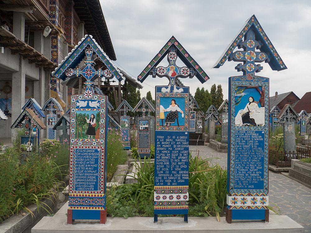 Cimitero Allego di sapanta - Maramures - Romania