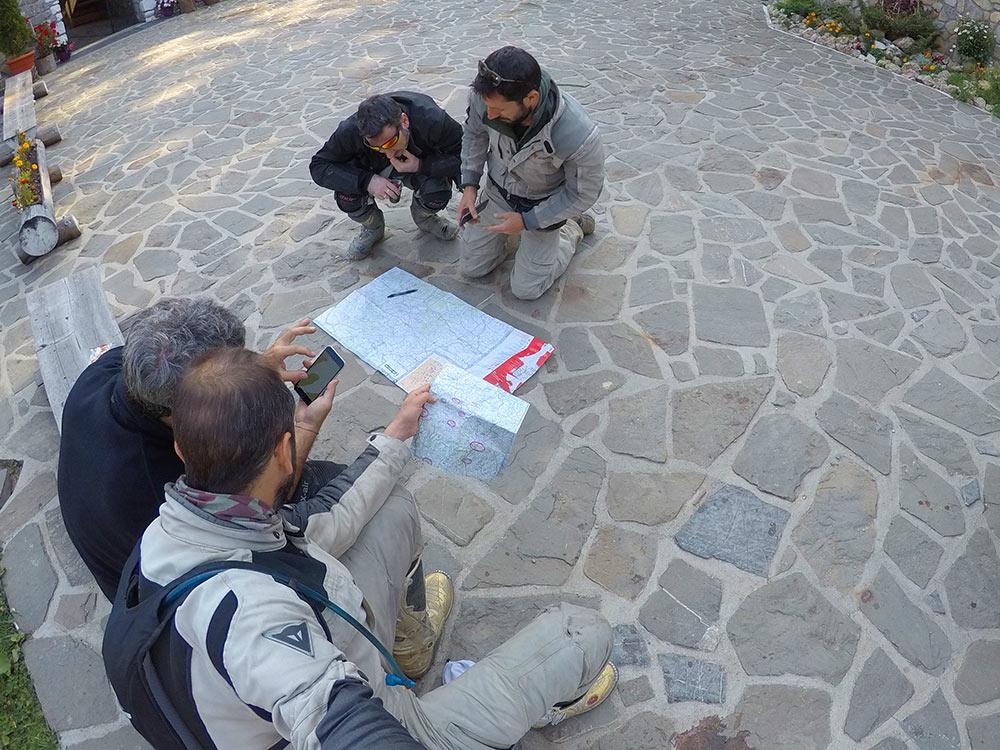 guardiamo la mappa -viaggio in moto in romania