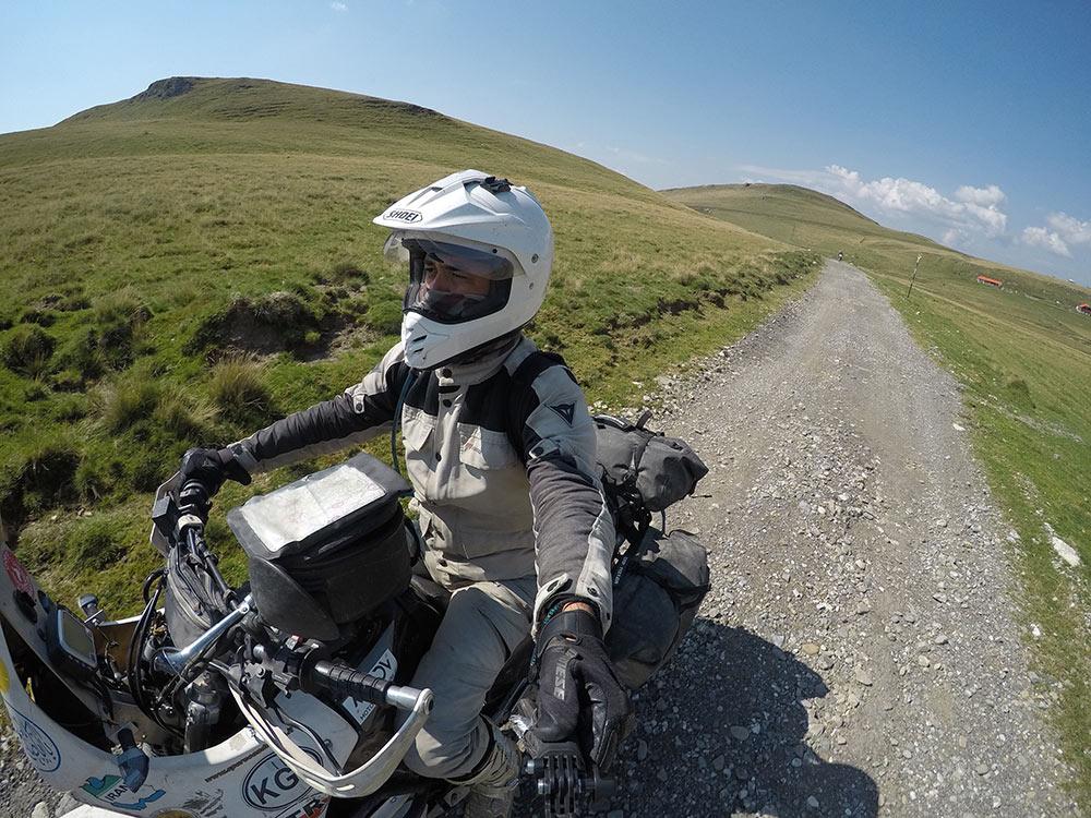 rimontimo in sella - viaggio in moto in Romania