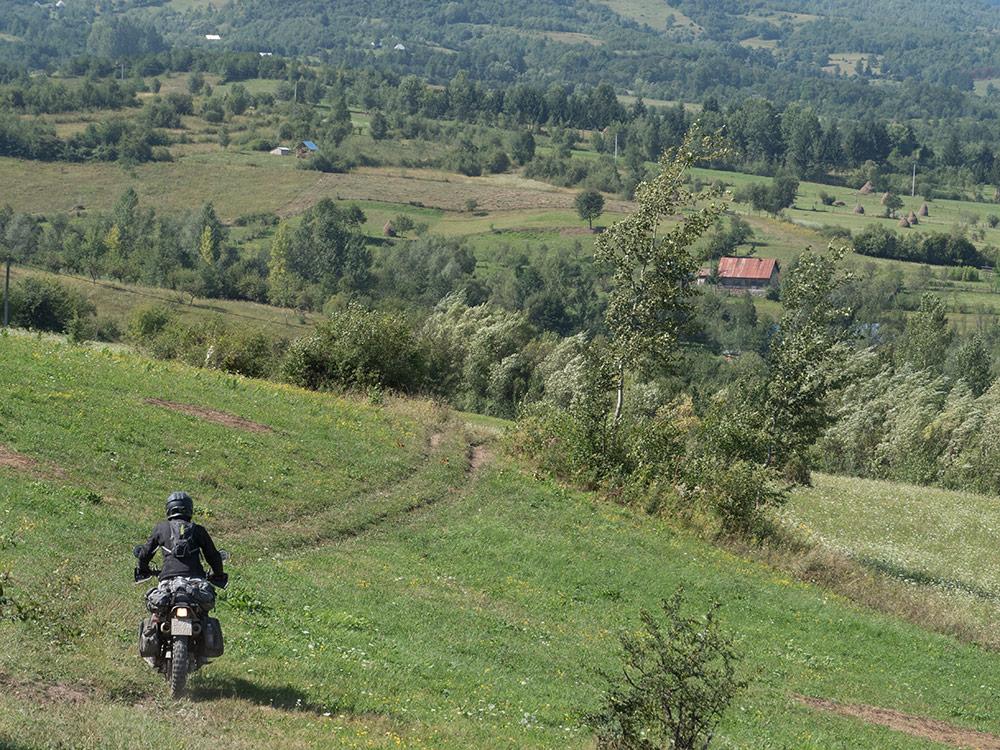 la regione dei Maramures in Romania