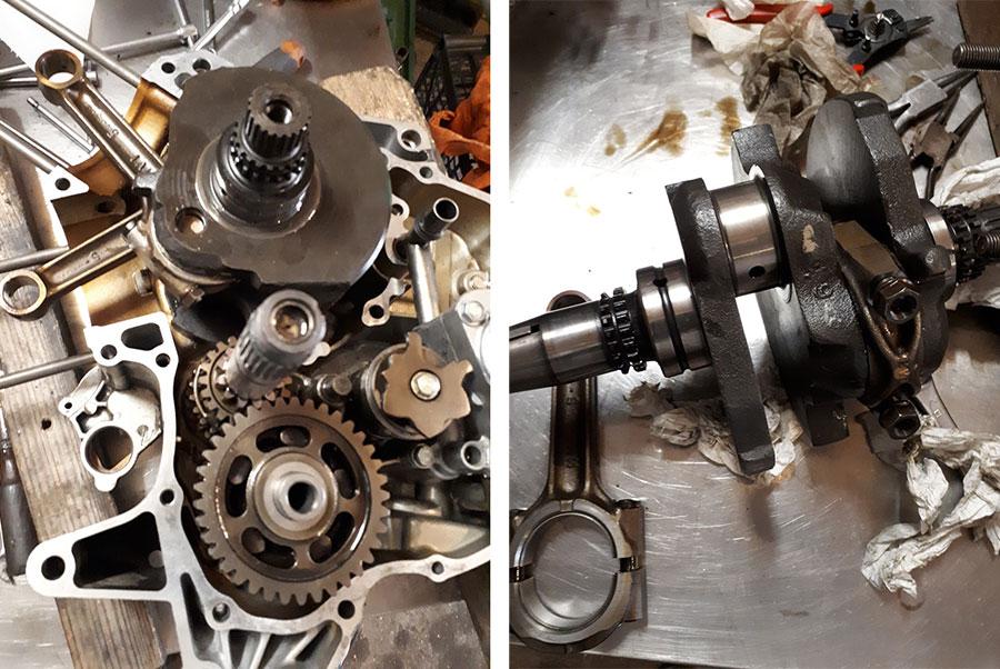 biella motore Africa Twin 750