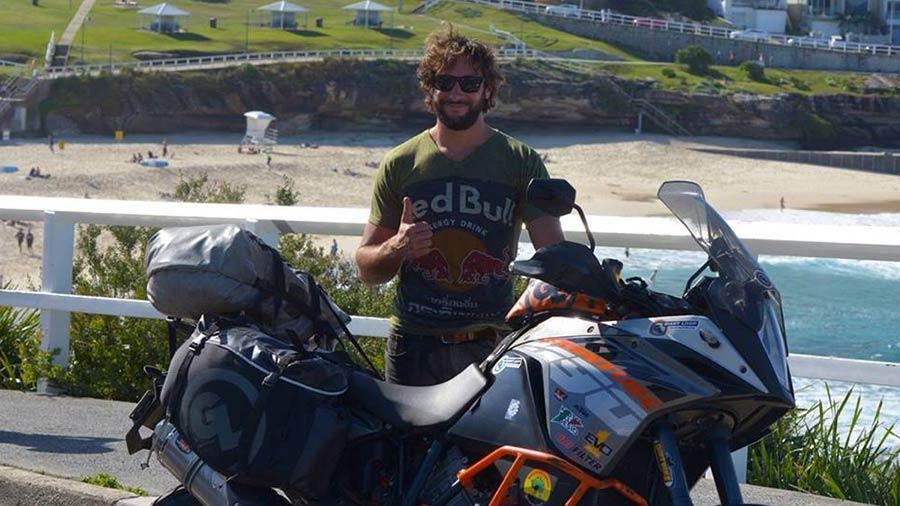 Paolo Cattaneo ADV Rider